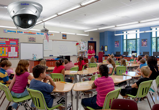 IP Surveillance for Classrooms